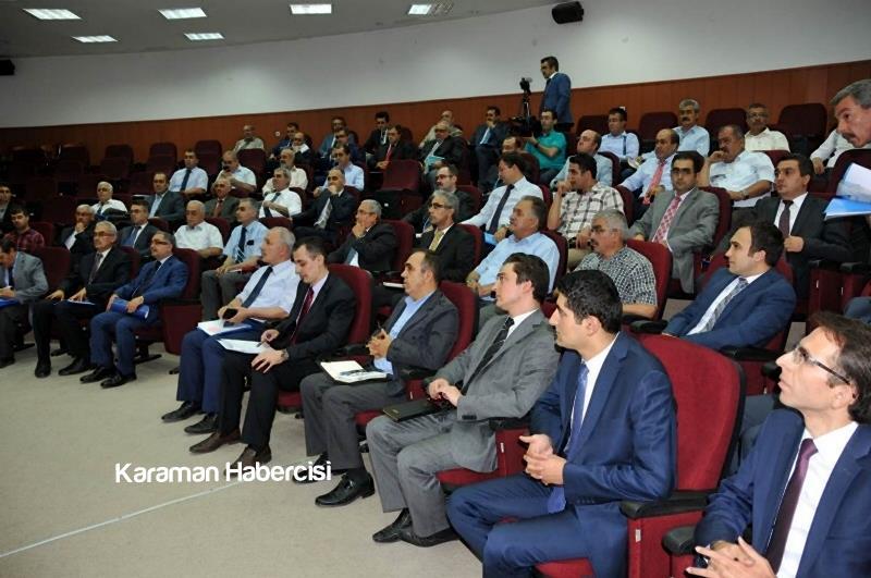 Vali Tapsız İl Koordinasyon Kurulu Toplantısına Katıldı 1