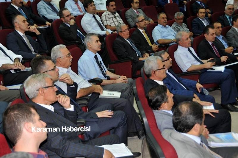 Vali Tapsız İl Koordinasyon Kurulu Toplantısına Katıldı 6