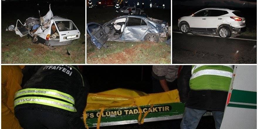 Zincirleme Trafik Kazası:2 Ölü, 2 Yaralı