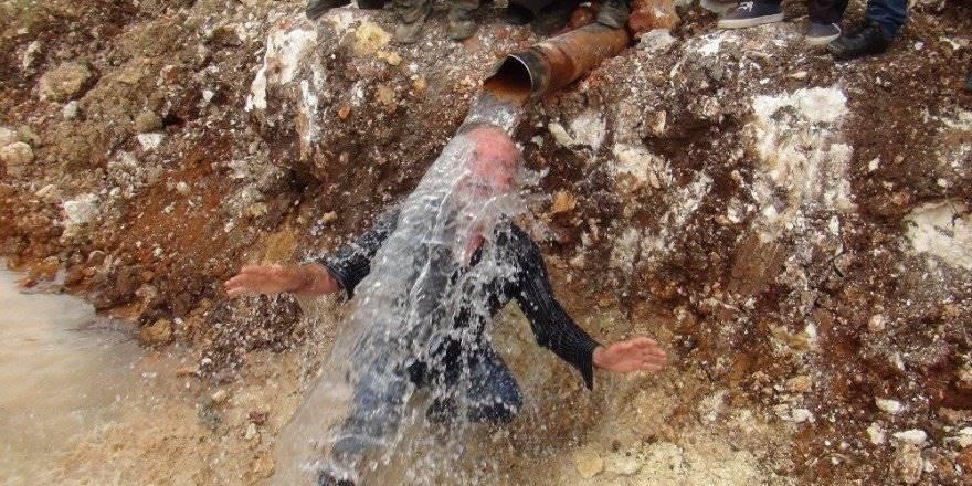 50 Yıl Aradan Sonra Gelen Su İçin Davul Çaldılar Göbek Attılar