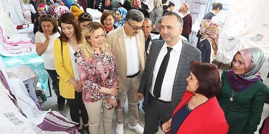 Karaman'da El Sanatları Sergisi Açılışı