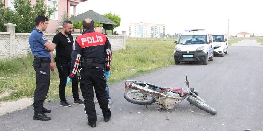 3 Yıl Önce Mersin'de Çalınan Motosiklet Karaman'da Ortaya Çıkt