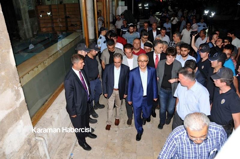 Kalkınma Bakanı Lütfi Elvan Karaman'da 1