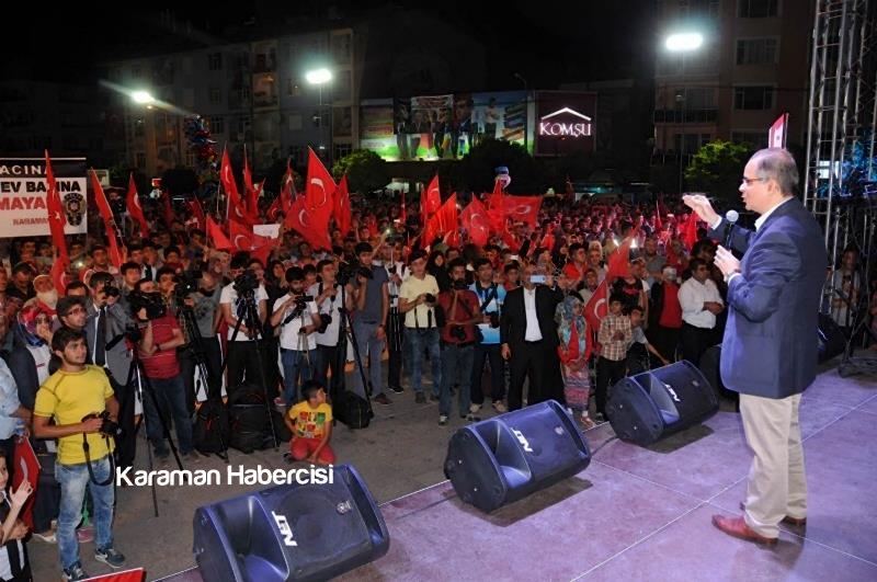 Kalkınma Bakanı Lütfi Elvan Karaman'da 10