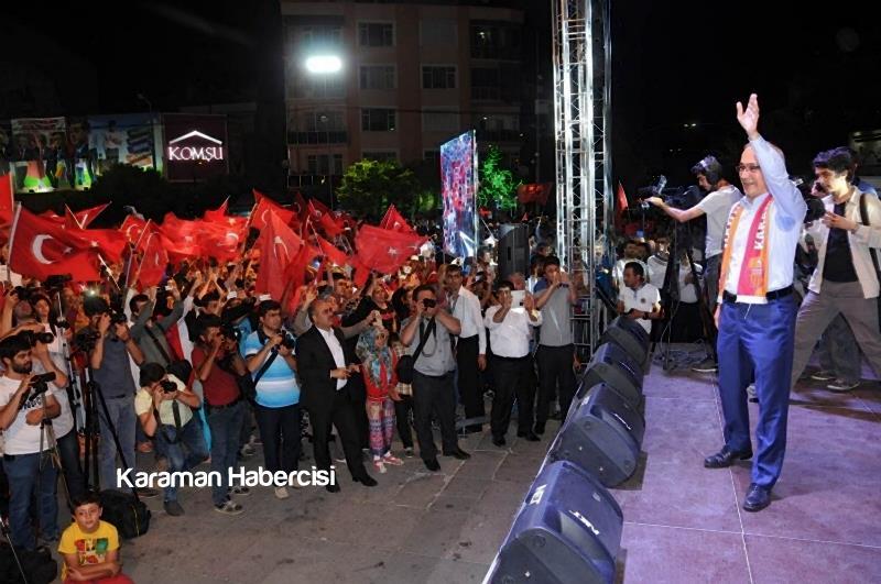 Kalkınma Bakanı Lütfi Elvan Karaman'da 12
