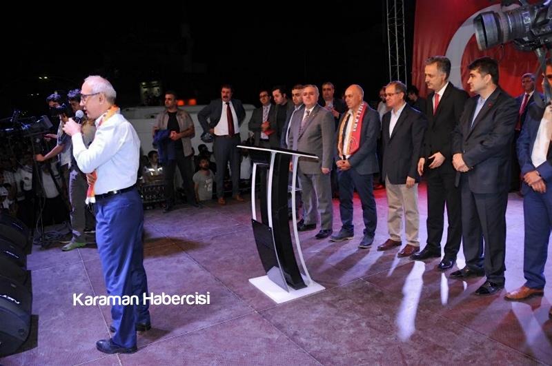 Kalkınma Bakanı Lütfi Elvan Karaman'da 15