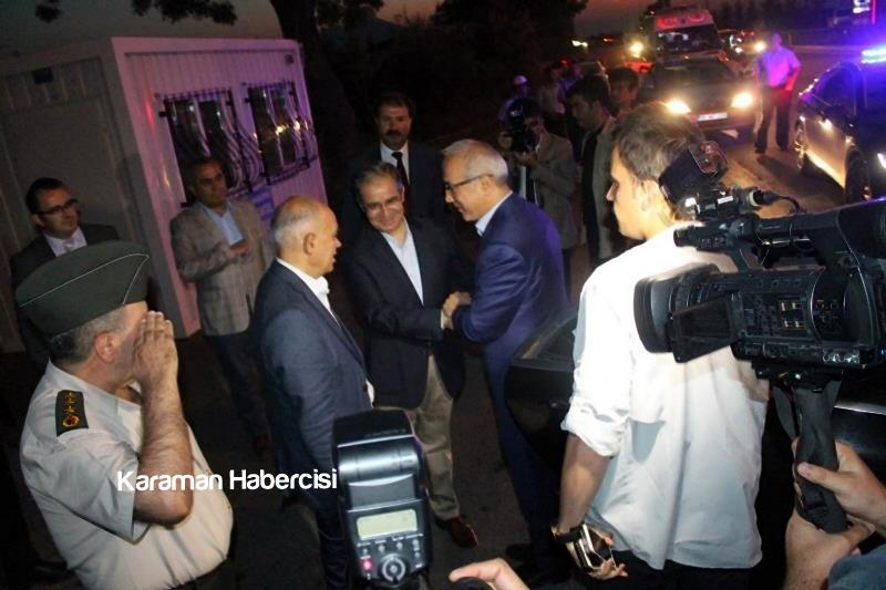 Kalkınma Bakanı Lütfi Elvan Karaman'da 2