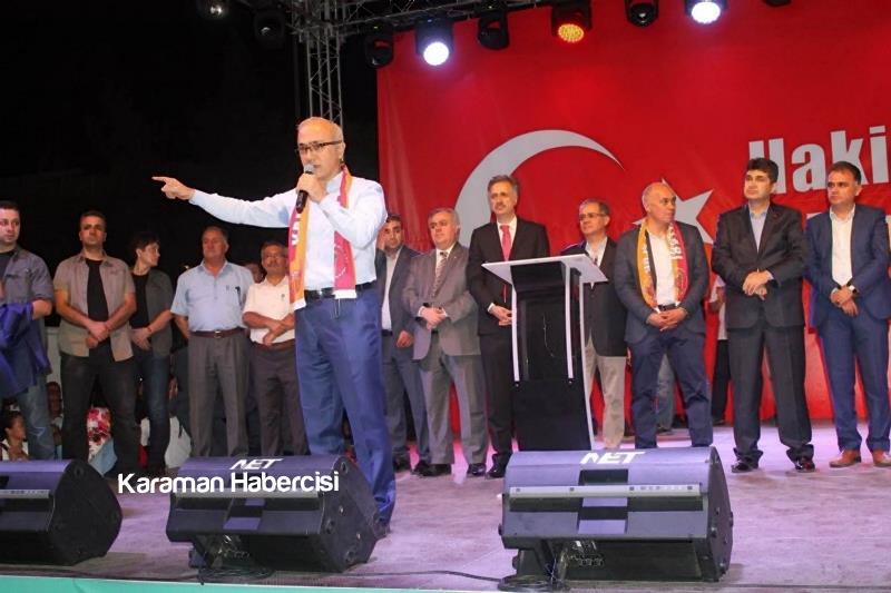 Kalkınma Bakanı Lütfi Elvan Karaman'da 21