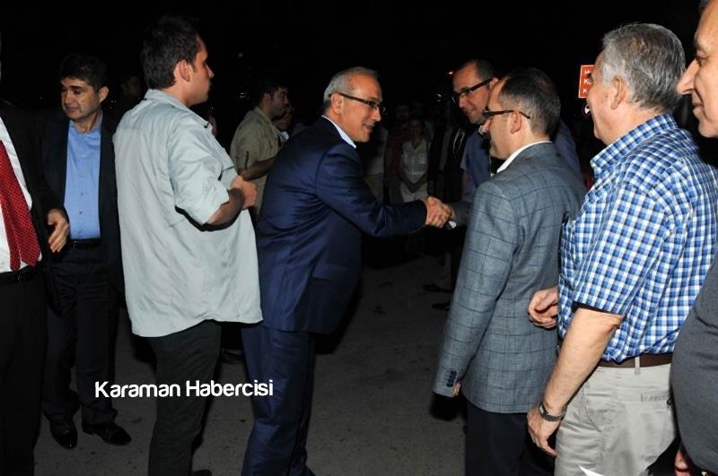 Kalkınma Bakanı Lütfi Elvan Karaman'da 3
