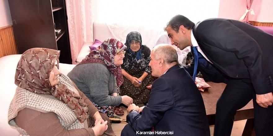 Karaman'da Devletin Şefkatini Hissettirdiler