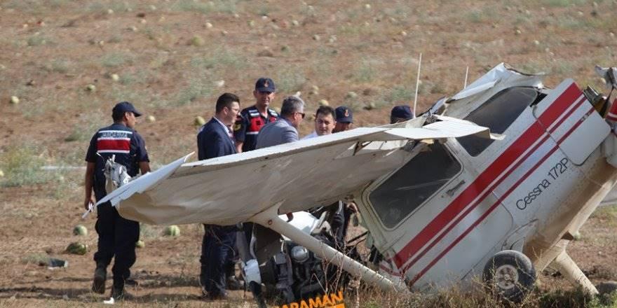 Antalya'da Uçak Düştü 2 Kişi Öldü