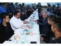 Karaman'da İlk İftar Sofrası Atatürk Mahallesi'nde Kuruldu