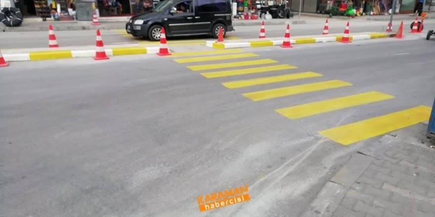 Mut Caddesi Üzerinde Trafik Rahatlatma Çalışmaları