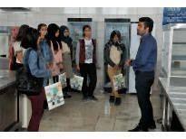 Nefise Sultan Meslek Lisesi Öğrencileri KMÜ'yü Ziyaret Etti