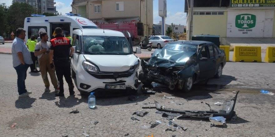 Karaman Larende Alt Geçit Trafik Kazası