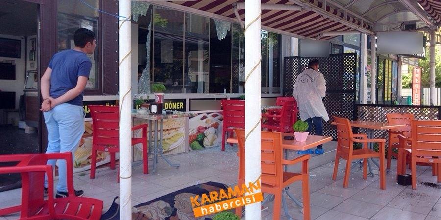 Konya'da bir iş yerini kurşunlama olayı 1