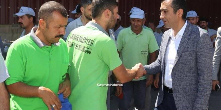 Karaman Belediyesi Temizlik İşlerine Ziyaret