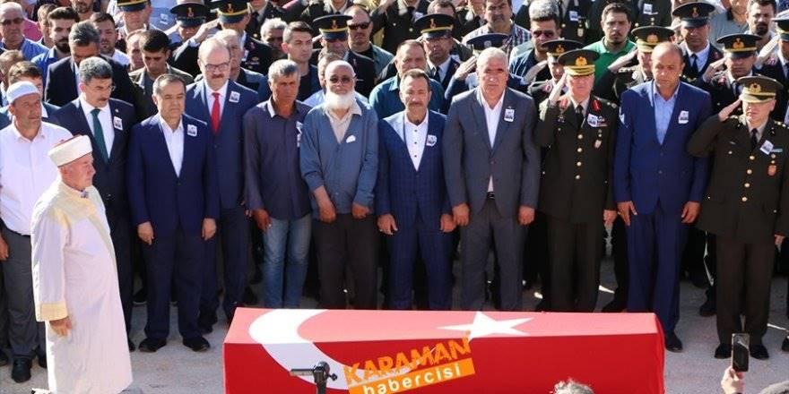 Aksaraylı  Şehit Uzman Onbaşı Mikail Candan Dualarla Defnedildi