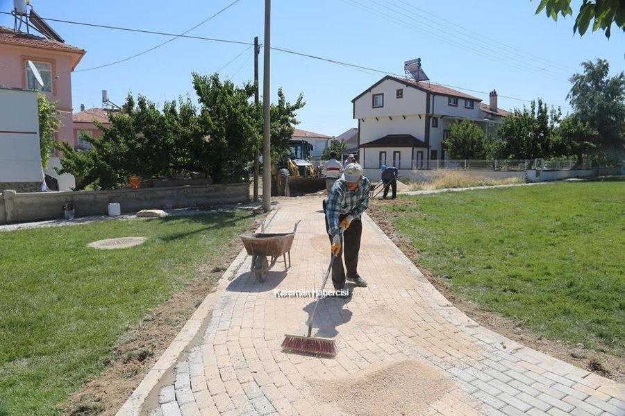 Karaman'da Park Bahçe Çalışmaları 1