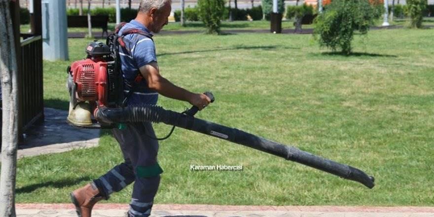 Karaman'da Park Bahçe Çalışmaları