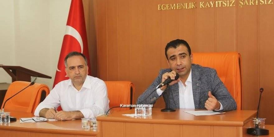 Karaman Belediyesi Muhtarlar Toplantısı
