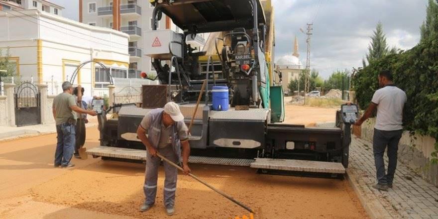 Karaman Belediyesi asfalt, yol yenileme ve yapım çalışmaları