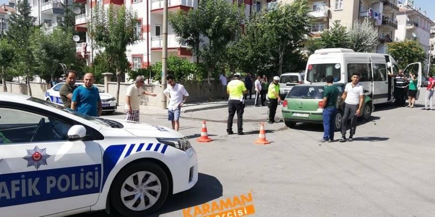 Karaman'da Judocu Çocuklar Kazada Hafif Şekilde Yaralandı