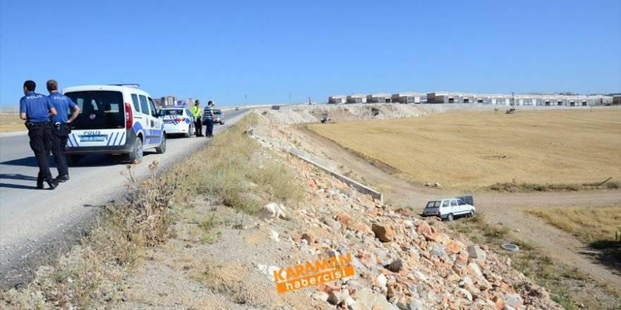 Karaman Çevre Yolunda Trafik Kazası