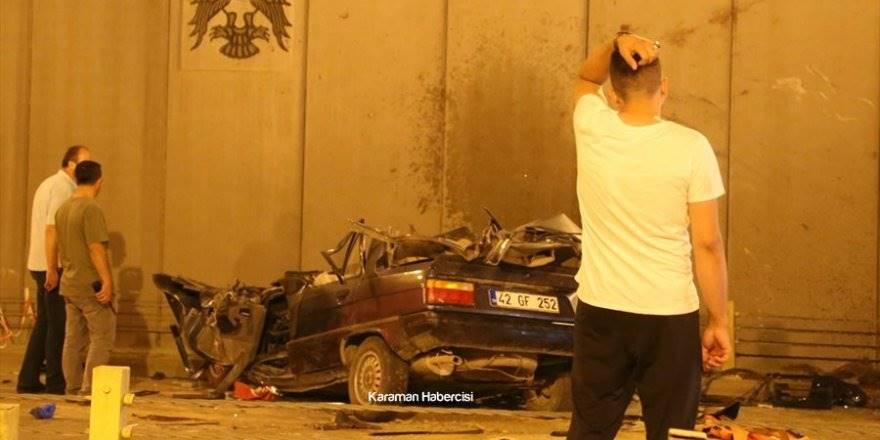 Konya'da Trafik Kazası 7 Ölü