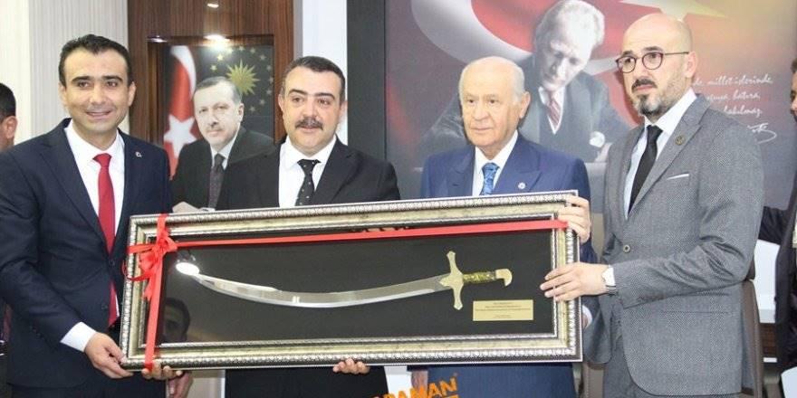 MHP Lideri Devlet Bahçeli Karaman'da