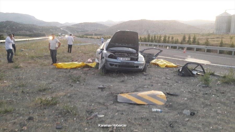Konya'da Trafik Kazası : 2 Ölü 1