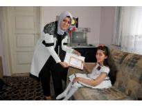 Karaman'da, Evde Eğitim Gören Öğrencilere Sürpriz Ziyaret