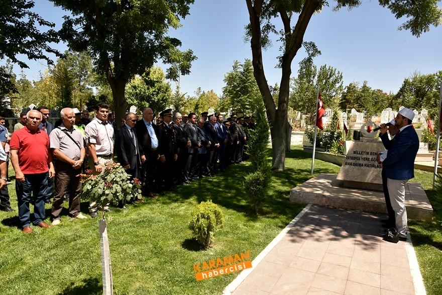 Karaman'da Şehitlerimiz Dualarla Yâd Edildi 1