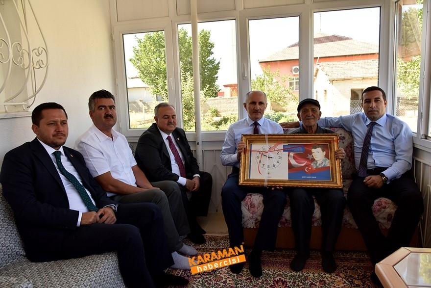 Karaman'da Şehit Ailelerine Bayram Ziyareti 1
