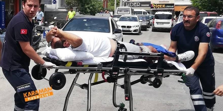 Karaman'da Çıkan Tartışmada Bir Kişi Yaralandı