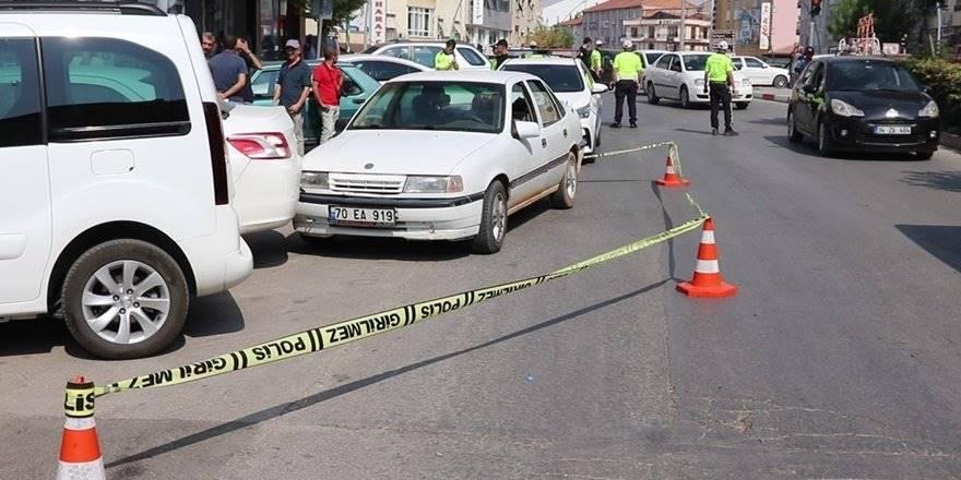 Karaman'da direksiyon başında rahatsızlanan vatandaş hayatını kaybe