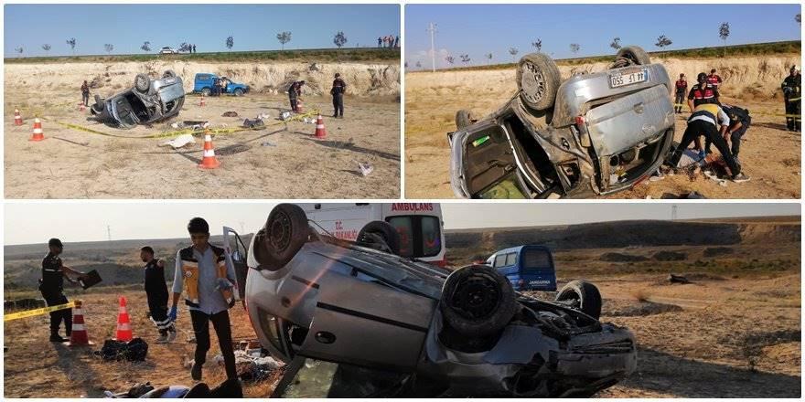Aksaray'da Trafik Kazası : 1 Ölü 3 Yaralı