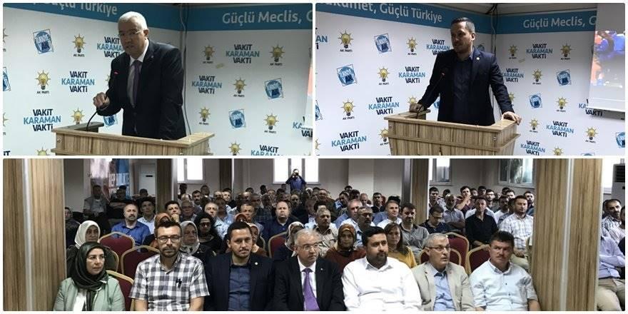 AK Parti Karaman il teşkilatı ağustos ayı İl Danışma Meclis toplantısı