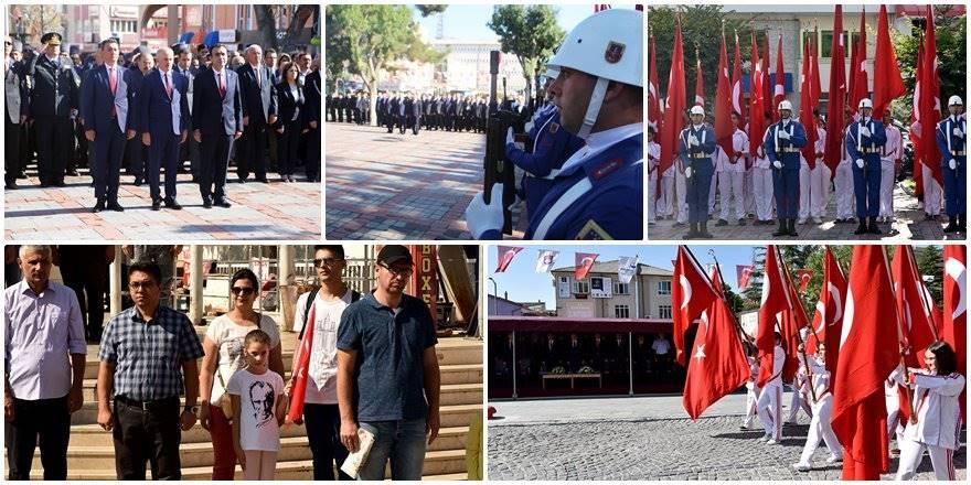 Karaman'da 30 Ağustos Zafer Bayramının 97'nci Yıldönümü Kutlamaları