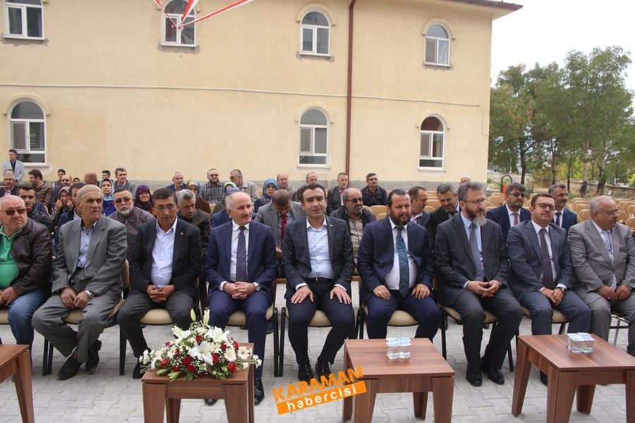 Hüseyin Mehmet Çavaş Kur'an Kursu'nun açılışı yapıldı 1
