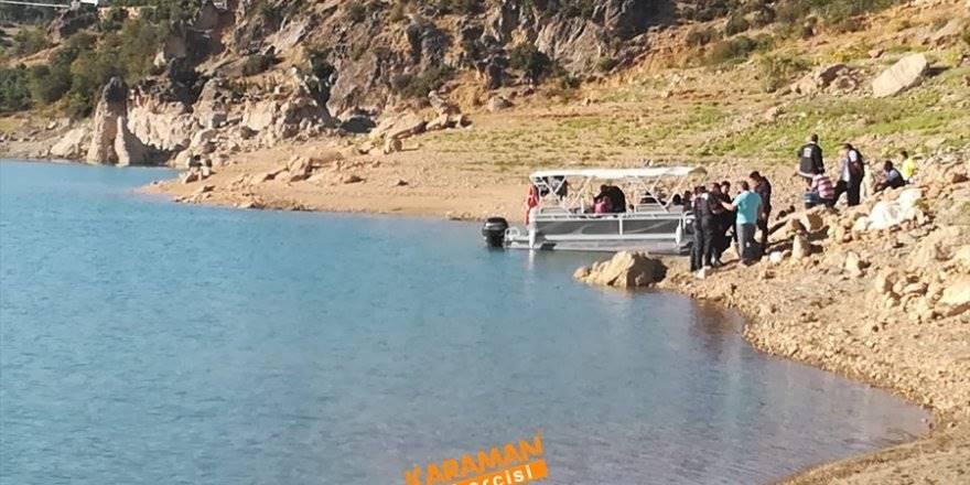 Konya'dan Karaman'a Giden Genç  Baraj Gölünde Boğuldu