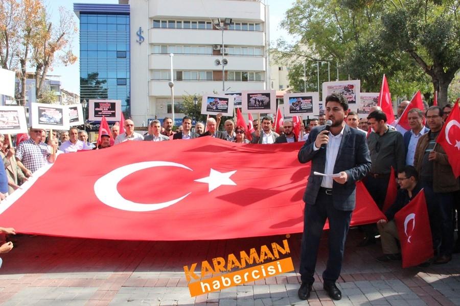 Karaman'da Mehmetçiğe Tam Destek 1