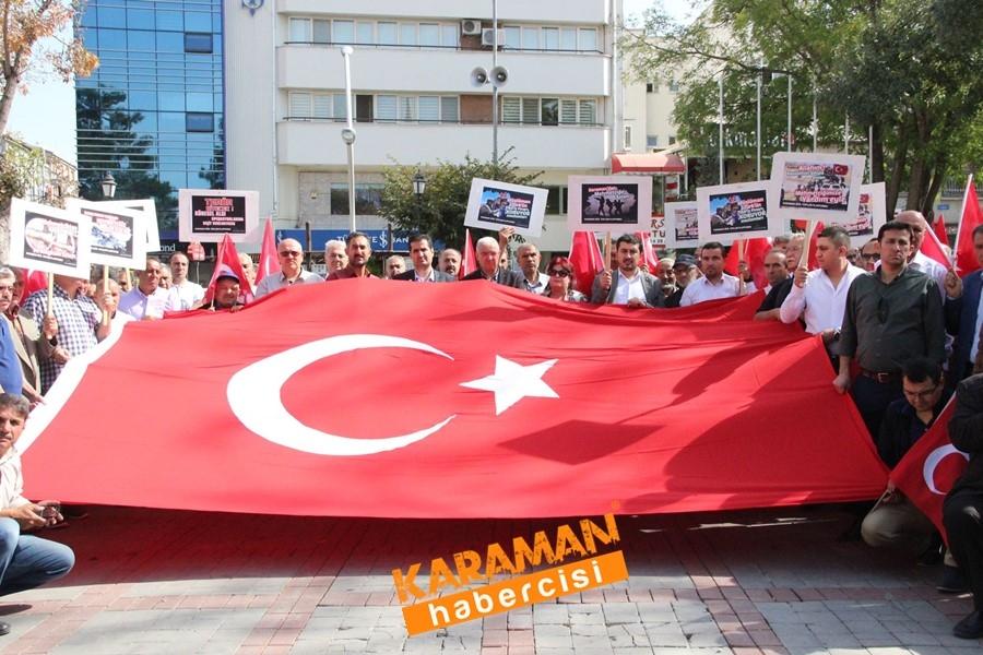 Karaman'da Mehmetçiğe Tam Destek 3