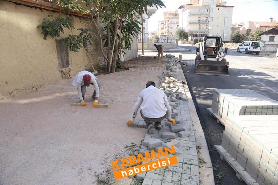 Alişahane Mahallesinde Yol Bakım Onarım Çalışmaları 1