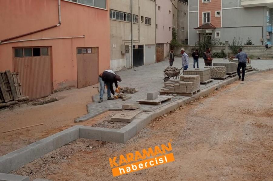 Alişahane Mahallesinde Yol Bakım Onarım Çalışmaları 3