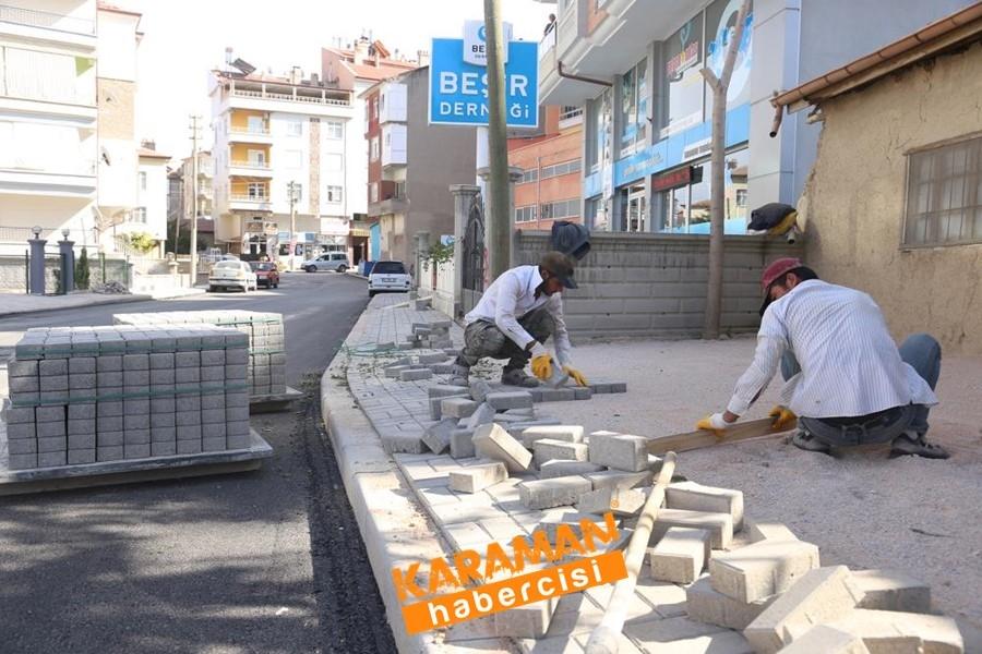 Alişahane Mahallesinde Yol Bakım Onarım Çalışmaları 7