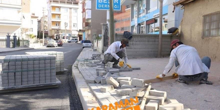 Alişahane Mahallesinde Yol Bakım Onarım Çalışmaları