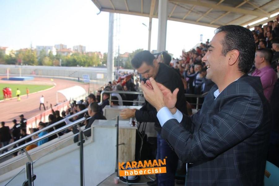 Karaman Belediyespor Evinde 3 Puanı Almasını Bildi 5