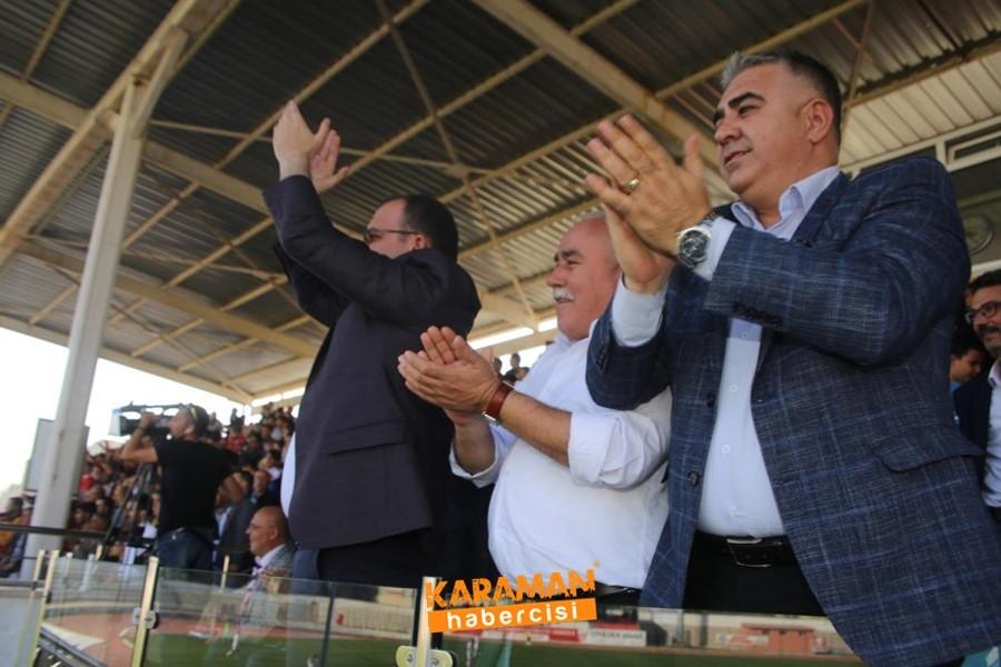 Karaman Belediyespor Evinde 3 Puanı Almasını Bildi 7