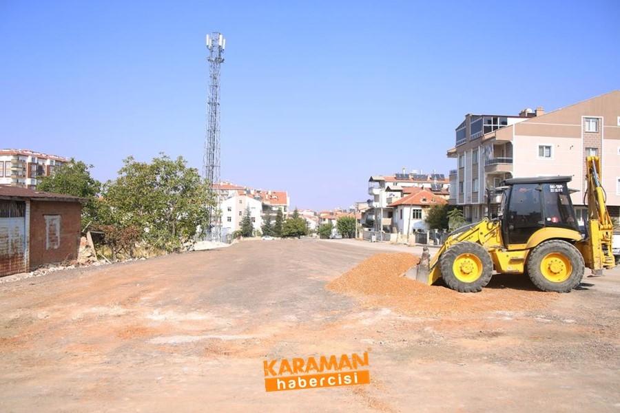 Karaman Belediyesi Çalışmaları Zembilli Ali Efendi Mahallesinde 6